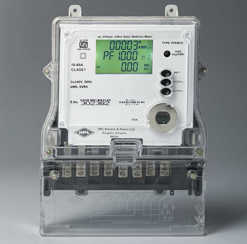 Three Phase IRDA Meters