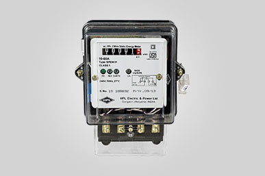 Single and Three Phase Energy Meter - HPL Power of Technology